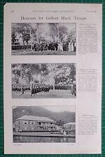 1900 BOER WAR ~ ST LUCIA WEST INDIA REGIMENT BLACK TROOPS GOVERNOR
