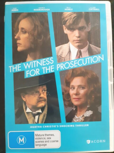 The Witness For The Prosecution [ 2 DVD Set ] Region 4, FREE Next Day Post