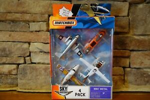 Matchbox-Sky-Busters-4-Pack-MBX-Metal-J4734-Model-Year-2006-Collection
