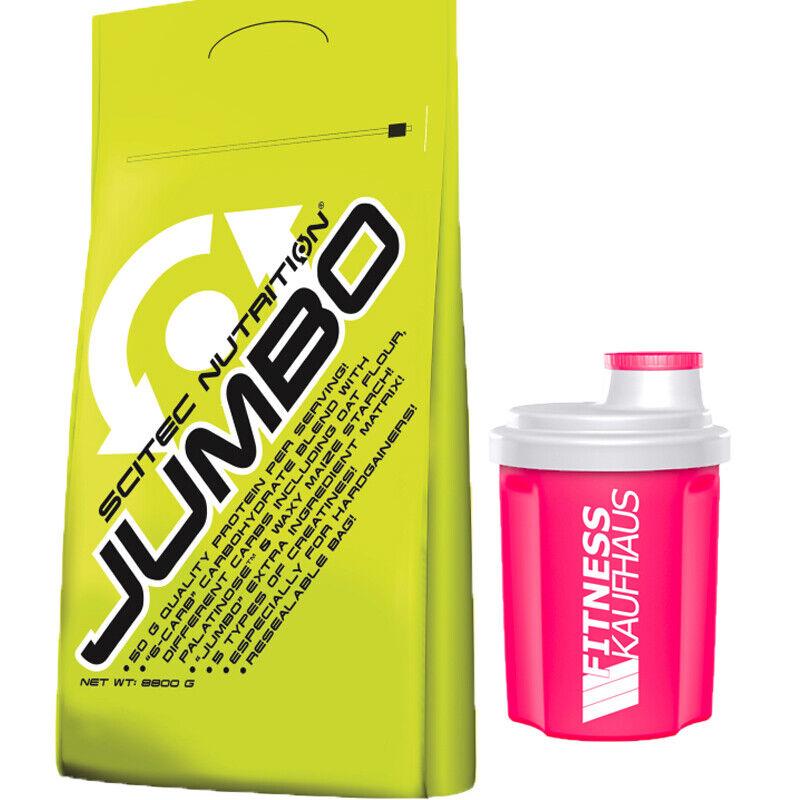 (9 08 08 08 EUR kg) Scitec Nutrition Jumbo 8800g Weight Gainer + Ladyline Shaker e7f289