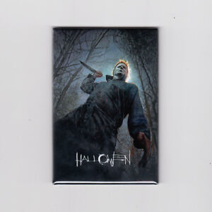 Halloween 2018 Illustrated 2 X 3 Movie Poster Magnet Michael