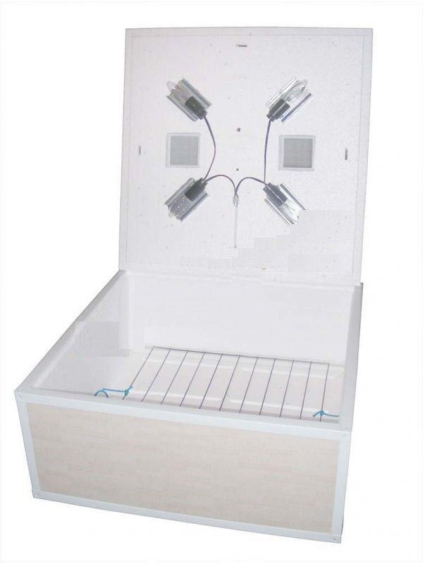 Mechanical Digital Incibator Kurochka Ryaba IB-130 for 130 eggs Double case