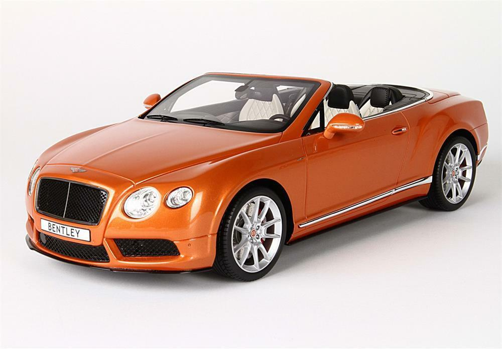 Bentley Continental GT V8 S Sunrise orange in 1 18 Scale by BBR P1887A