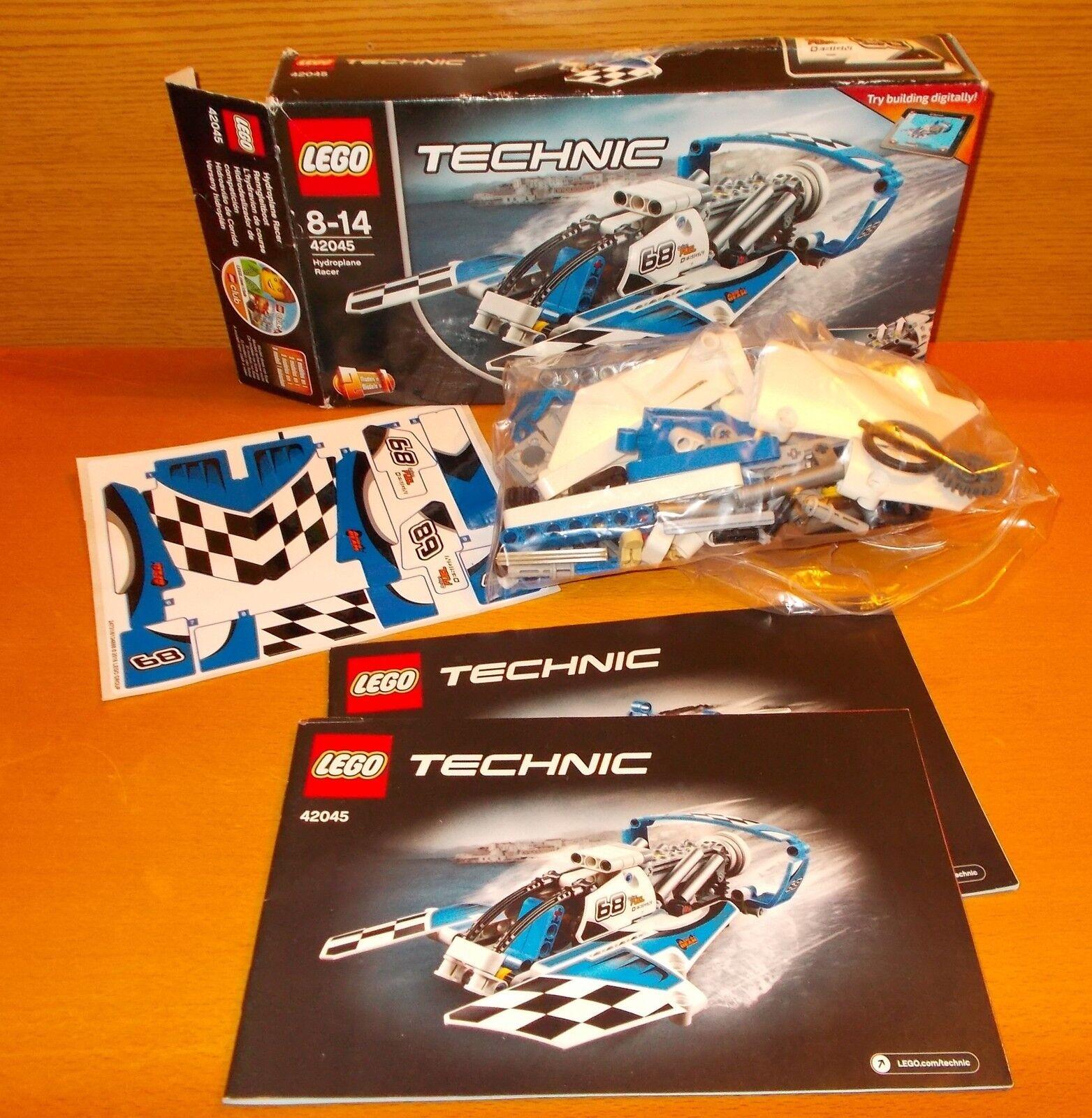 LEGO LEGO LEGO TECHNIC 42045 HYDROPLANE Racer 100% Complètement dans neuf dans sa boîte e829de