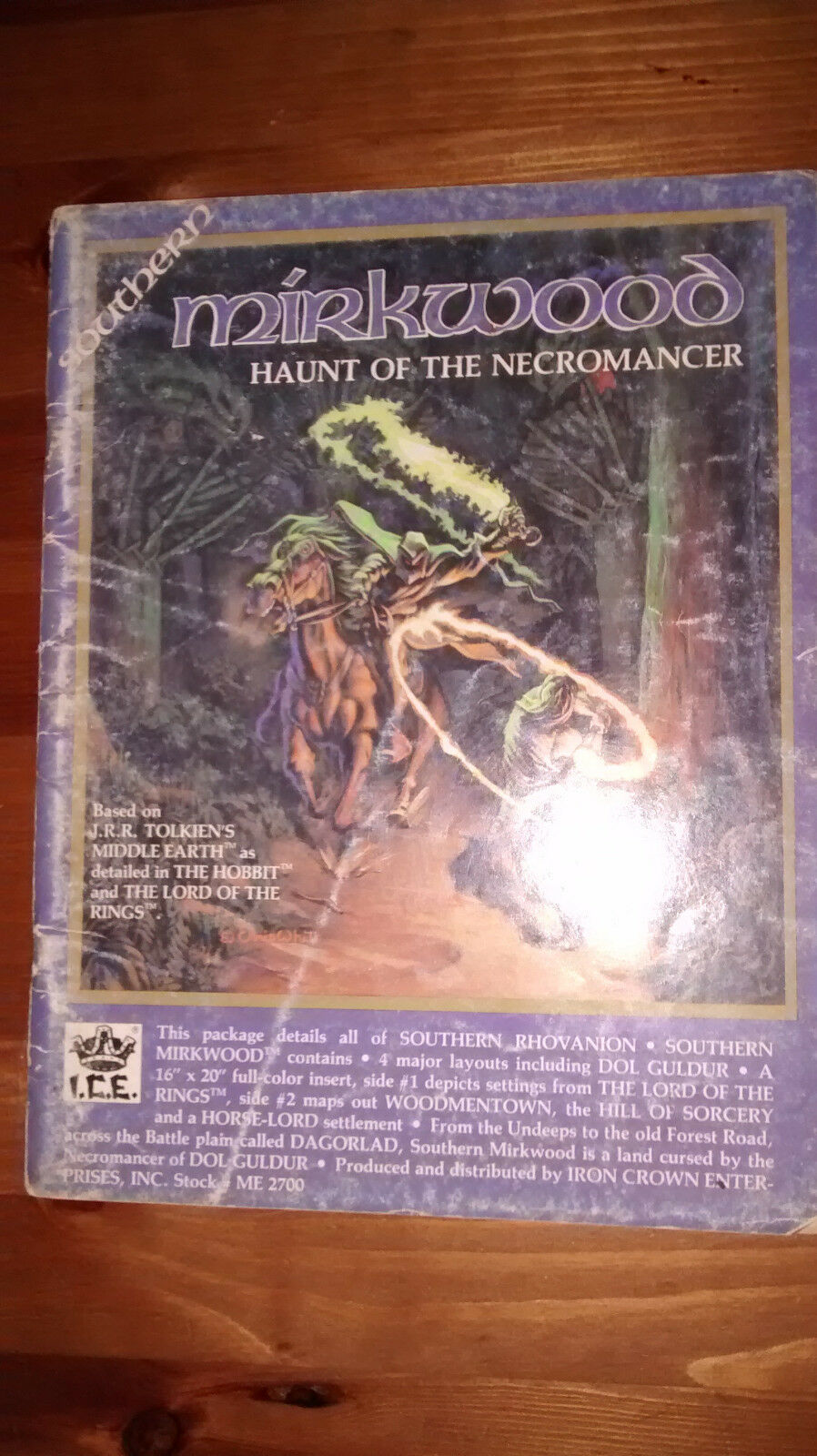 Southern Mirkwood Haunt Of The Necromancer Campaign MERP Rolemaster Roleplaying