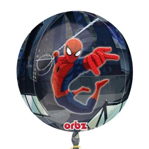Marvel DC Superhero Birthday Party Foil Balloons Orbz Airwalker Bouquet Anagram