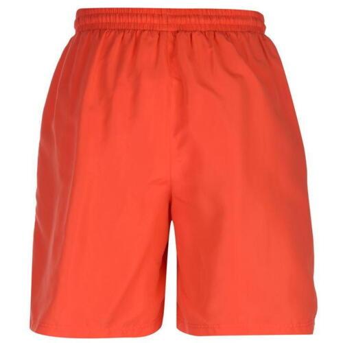 ✅ Slazenger Mens Short Sport Pants Football Fitness Swimming Bathing Leisure Red