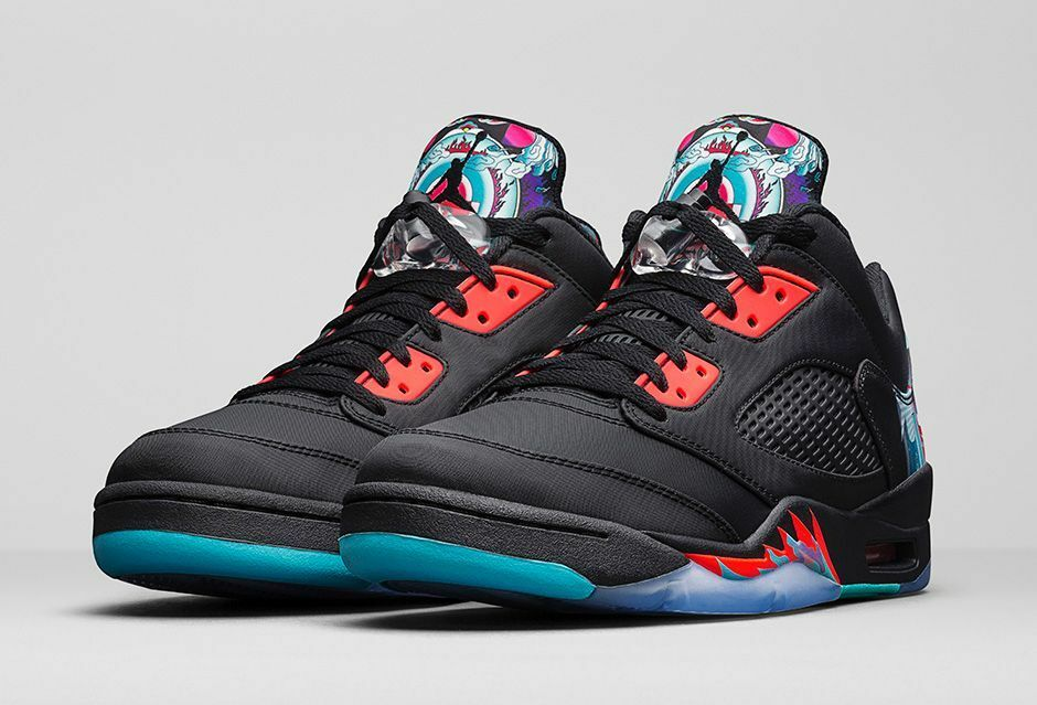 Nike air jordan 5 v retro - - - niedrige cny chinese new year in 10.840475-060 1 2 3 4 82b587