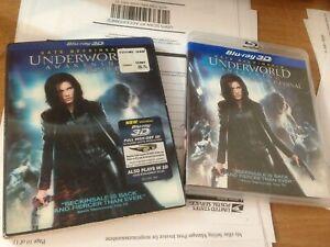 Underworld-Awakening-Blu-ray-3D-With-LENTICULAR-SLIPCOVER-Free-USA-Shipping