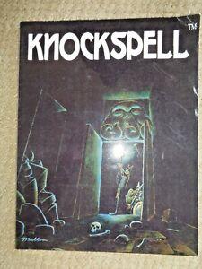First-Issue-KNOCKSPELL-Magazine-2009-Volume-1-Matt-Finch-Fantasy-Gaming-Games