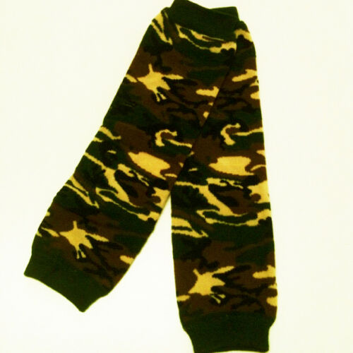 One Size Fits All Free Shipping 0019 Camo USA SELLER BABY LEG WARMERS
