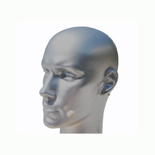 Beige Headset Microphone For AKG Wireless belt pack Transmitte XLR 3pin mini NEW