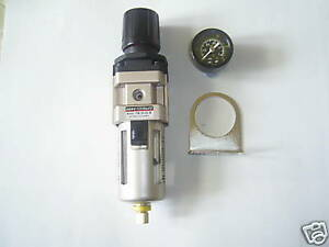 "1/2"" Bsp Air Filter Regulator Compressor use Pneumatic regualtor  400 lpm Flow"