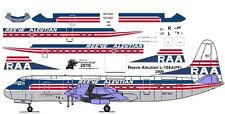 Reeve Aleutian Lockheed Electra airliner decals for Minicraft 1/144 kit