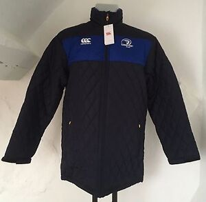 LEINSTER RUGBY PEACOAT BLUE PADDED JACKET BY CANTERBURY SIZE MEN/'S SMALL NEW