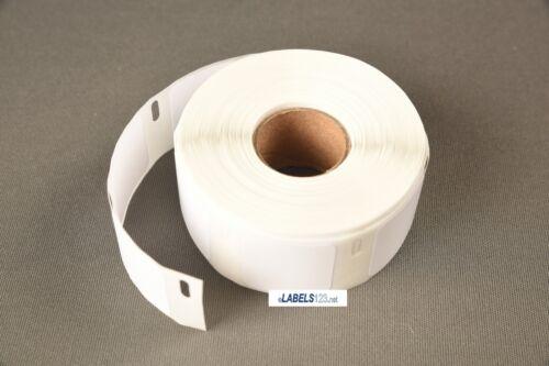 2 Rolls DYMO® XL 30332 Multipurpose White 1x1 Labels 330 400 450 Twin Turbo Duo