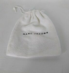 MARC-JACOBS-FLANNEL-JEWELRY-WHITE-Dust-Bag