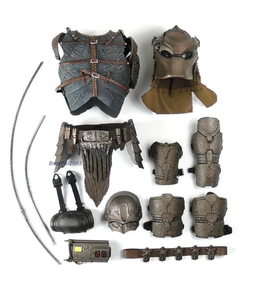 Heißes spielzeug mms163 raubtiere noland action - figur bis 6 festgelegten umfang rüstung + helm