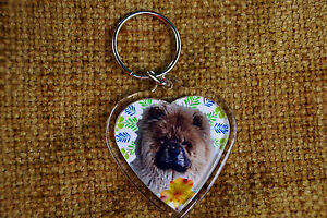 Chow-Chow-Gift-Keyring-Dog-Key-Ring-heart-shaped-gift-Xmas-Mothers-Day-Gift