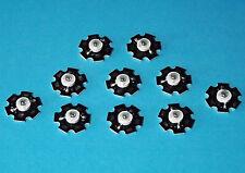 10 X 3W 850nm IR POWER  LED on HEATSINK Kühlkörper Emitter Infrarot Infrared 5mm
