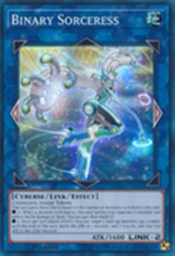 Binary Sorceress SDCL-EN043 X 1 Super Rare YUGIOH CARD