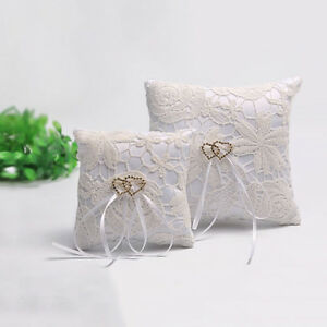 Double-Heart-Wedding-Pocket-Ring-Pillow-Cushion-Bearer-Crystal-RhinestonTO