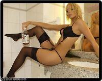 Jim Beam Whiskey Girl Refrigerator Magnet