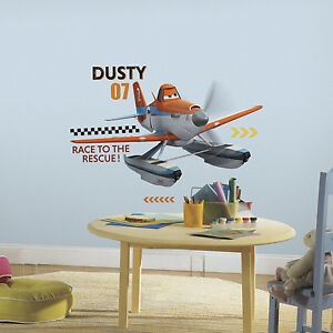 Awesome Image Is Loading DUSTY FIRE AND RESCUE Airplane WALL DECALS Disney