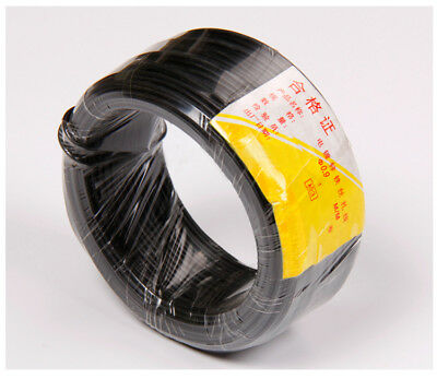 Ф0.55mm Flat Plastic Coated Iron Wire Binding Wire Cable Ties 80M//roll