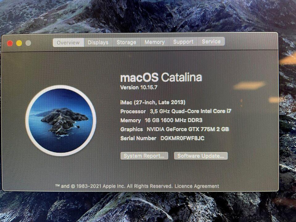 "iMac, iMac 27"", 3,5 GHz"