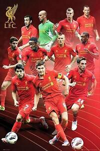 Liverpool Players 2012 - 2013 - Maxi Poster 61cm x 91.5cm new and sealed