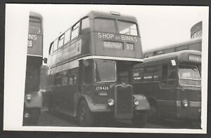 Bus-Photograph-postcard-size-CCN-426-destination-Newcastle-NOT-A-POSTCARD