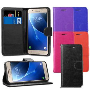 Premium-Etui-portefeuille-en-cuir-Housse-a-rabat-pour-Samsung-Galaxy-J5-2016-J510-Ecran