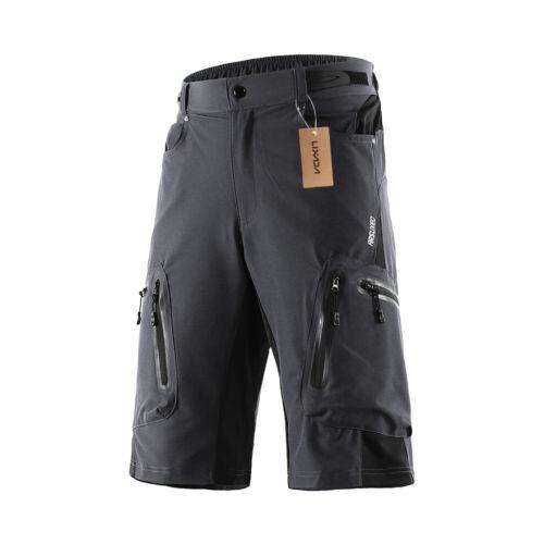 Men Baggy Cycling Shorts Bicycle Bike MTB Short Pants Loose Fit Shorts Outdoor U