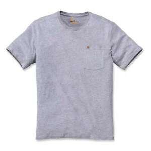 Carhartt-Herren-T-Shirt-Kurzarm-Warm-Weather-Short-Sleeve-Pocket-Tee