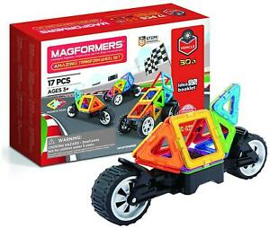 Magformers RALLY KART BOY Educational Construction Building Stem Toy BN