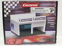 Carrera 21104 Pit Stop Lane Double Garage 1/24 1/32 Slot Car Accessory