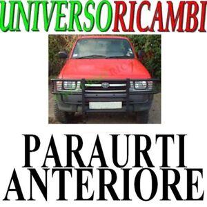 Per TOYOTA HILUX 2012-2016 PARAURTI ANTERIORE GRIGLIA RADIATORE CENTRALE nero//cromato
