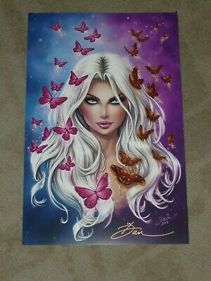 """SIGNED 11/""""x17/"""" DAWN McTEIGUE SOUTHERN NIGHTGOWN ART PRINT"""