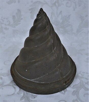 Flue Covers Strict Rare Vintage Antique Spiral Twist Shape Flue Cover Cap