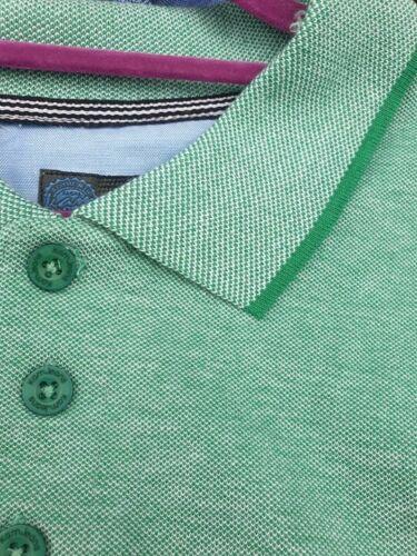 Kam KBS5263 Vert Bruit Blanc Polo Shirt 2XL3XL4XL5XL6XL7XL8XL