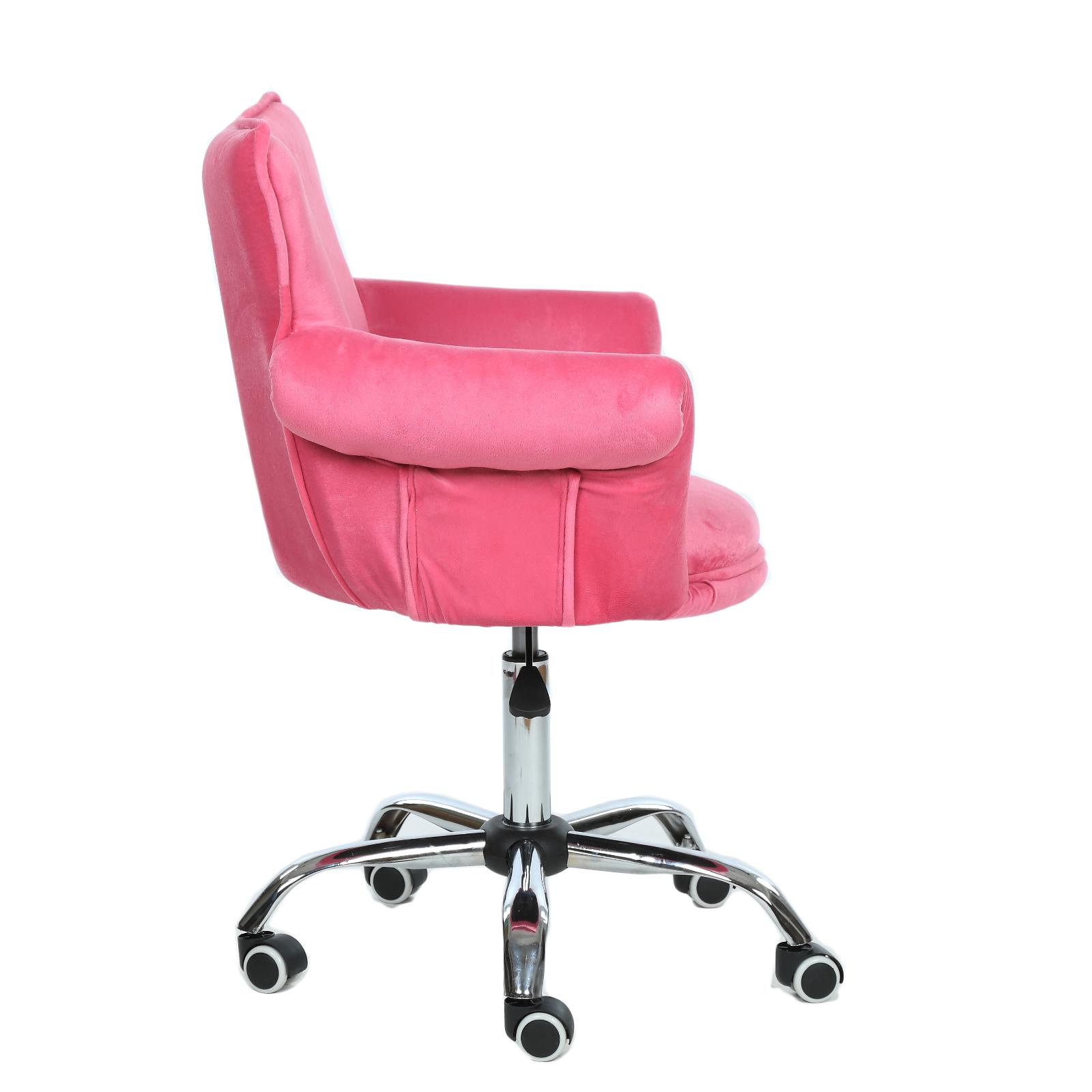Microfiber Beauty Nail Salon Chair Bar Stool Spa Vanity