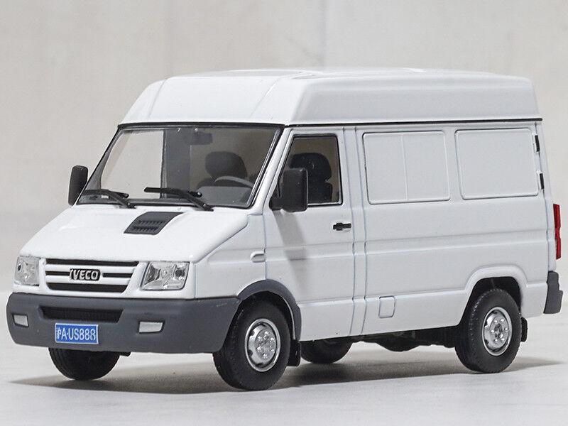 1 43 Naveco Ievco Turbo Daily Van White Dealer Edition