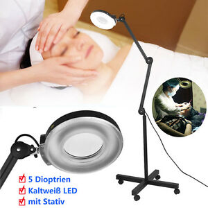 led lupenleuchte lupenlampe standlupe 5 dioptrien 15w. Black Bedroom Furniture Sets. Home Design Ideas
