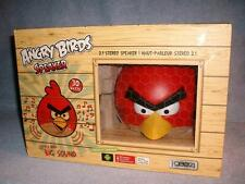 Classic Red Angry Birds 2.1 Stereo Speaker 30 Watts iPhone iPod iPad MP3 gear4