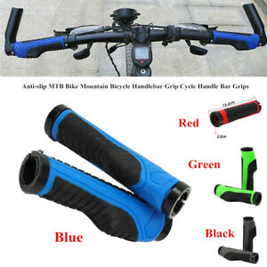 1pair Bike Handlebar Anti-Slip Cycling Grips Bicycle Grip Bar Bike Handlebars