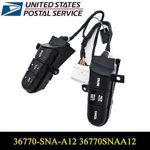 Honda A12 Service >> Details About Steering Wheel Cruise Audio Remote Control Switch For Honda Civic 36770 Sna A12