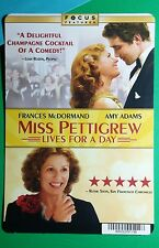 MISS PETTIGREW LIVES FOR A DAY MCDORMAND A MINI POSTER BACKER CARD (NOT a movie)