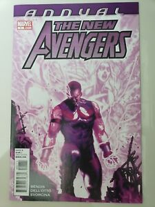 THE-NEW-AVENGERS-ANNUAL-1-2011-MARVEL-COMICS-DELL-039-OTTO-BENDIS-WONDER-MAN