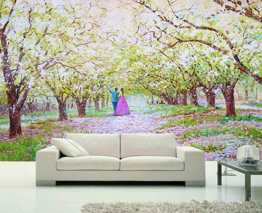 3D Romantic Woods 74 Wall Paper Murals Wall Print Wall Wallpaper Mural AU Kyra